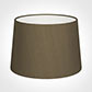 35cm Medium French Drum Shade in Bronze Faux Silk
