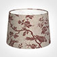 35cm Medium French Drum Shade in Red Isabelle
