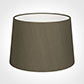 35cm Medium French Drum Shade in Bronze BrownSilk