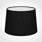 35cm Medium French Drum Shade in Black Silk