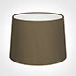 40cm Medium French Drum Shade in Bronze Faux Silk