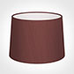 40cm Medium French Drum Shade in Old Red Faux Silk