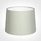 40cm Medium French Drum Shade in Soft Grey Faux Silk