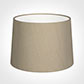 40cm Medium French Drum Shade in Limestone Waterford Linen