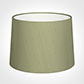 45cm Medium French Drum Shade in Pale Green Faux Silk