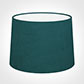 45cm Medium French Drum Shade in Teal Hunstanton Velvet