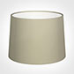 45cm Medium French Drum Shade in Pale Smoke Satin