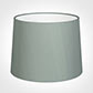 50cm Medium French Drum Shade in Aquamarine Faux Silk