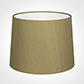 50cm Medium French Drum Shade in Dull Gold Faux Silk