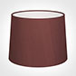 50cm Medium French Drum Shade in Old Red Faux Silk