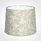 50cm Medium French Drum Shade in White Isabelle