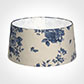 45cm Wide French Drum Shade in Blue Bloom