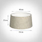 45cm Wide French Drum Shade in Natural Isabelle