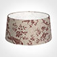 45cm Wide French Drum Shade in Red Isabelle