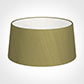 45cm Wide French Drum Shade in Antique Gold Silk