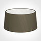 45cm Wide French Drum Shade in Bronze Brown Silk