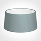 45cm Wide French Drum Shade in Rococo Blue Silk