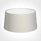 45cm Wide French Drum Shade in Off White Waterford Linen