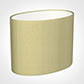 25cm Straight Oval Shade in Wheat Faux Silk