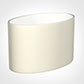 45cm Straight Oval Shade in Cream Satin