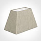 46cm Sloped Rectangle Shade in Natural Isabelle