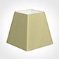 40cm Sloped Square Shade in Wheat Faux Silk