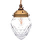 Orfila Crystal Pendant Light in Old Gold