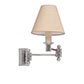 Hanson Wall Light in Nickel