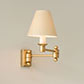 Hanson Wall Light in Old Gold