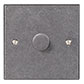 1 Gang Rotary Dimmer Polished Bevelled Plate