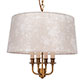 Ickworth Pendant Light in Old Gold