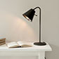 Studio Desk Lamp with Spun Shade in Beeswax