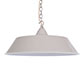 Balmoral Pendant Light in Clay (inside white)
