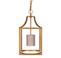Wilton Lantern in Old Gold
