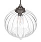 Ava Glass Pendant Light in Polished