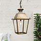 Brass Canterbury Lantern Outdoor Lighting Jim Lawrence