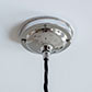 Fordham Ceiling Rose with Cable Grip in Nickel