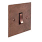 1 Gang Copper Grid Switch Heritage Copper Bevelled Plate