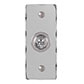 1 Gang Chrome Dolly Architrave Switch Nickel Hammered Plate