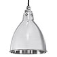 Barbican Pendant Light in Nickel