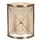 Hamilton Corner Wall Light in Antiqued Brass