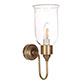 Chester Wall Light in Antiqued Brass