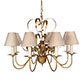 Romana Pendant Light in Old Gold