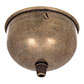 Gifford Ceiling Rose with Cable Grip in AntiquedBrass