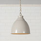 Wharf Pendant Light in Clay