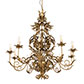 Montgomery Pendant Light in Old Gold