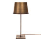 Small Porter Table Lamp in Antiqued Brass