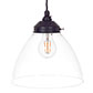 Deben Pendant Light in Matt Black
