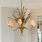 Sussex Pendant Light in Old Gold