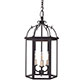 Charlecote Lantern in Matt Black